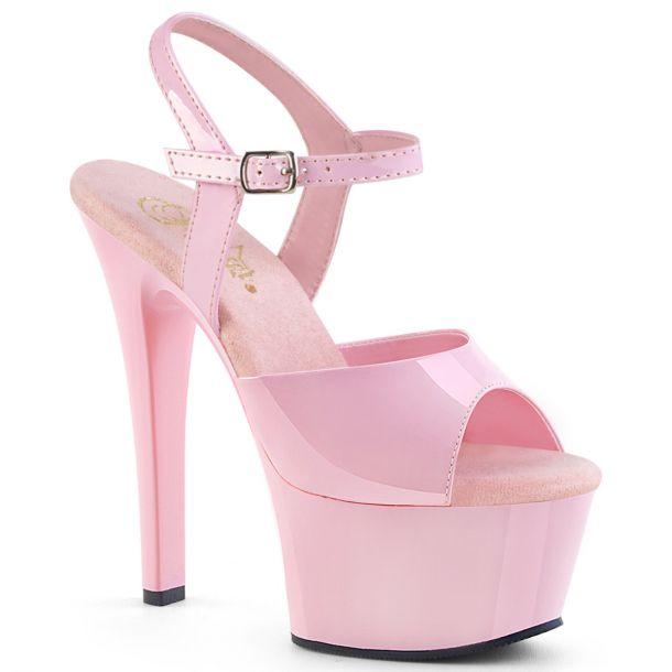 Platform High Heels ASPIRE-609 - Patent Baby Pink*