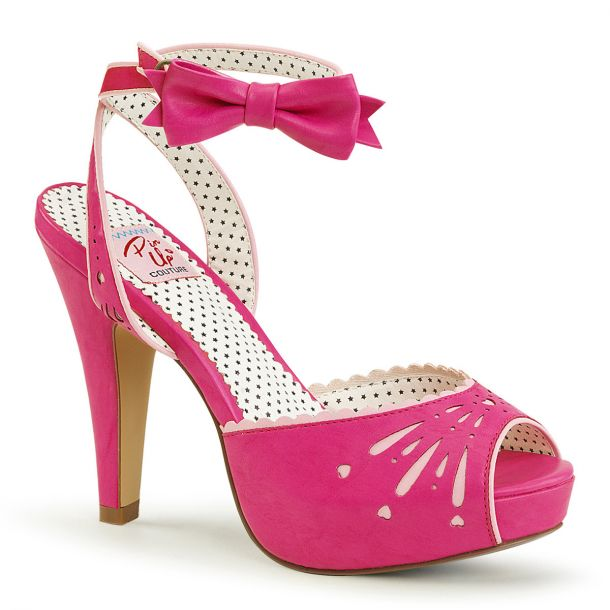 High-Heeled Sandal BETTIE-01 - Hot Pink*