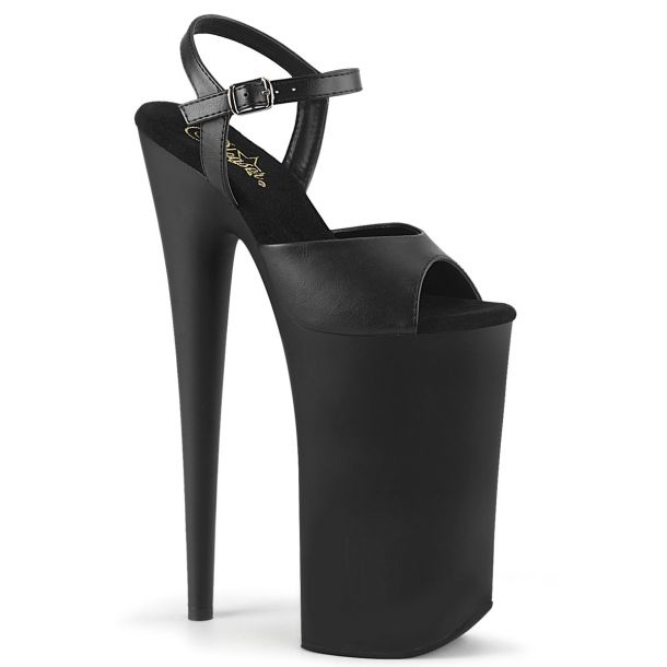 Extreme Platform Heels BEYOND-009 - Matte Black