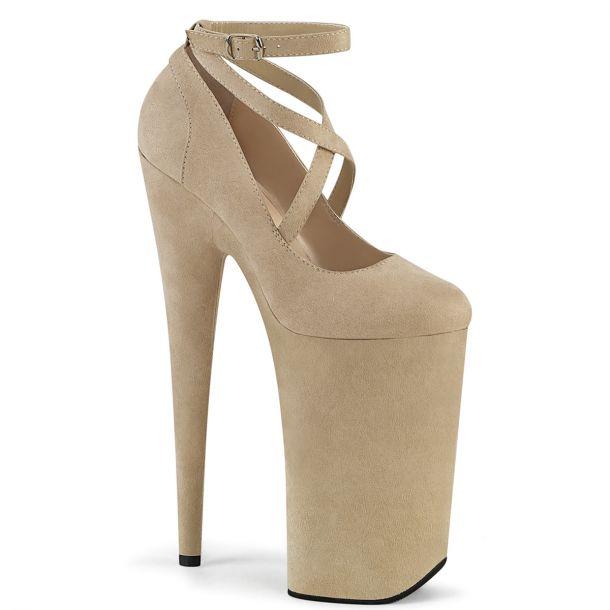 Extreme Heels BEYOND-087FS - Beige