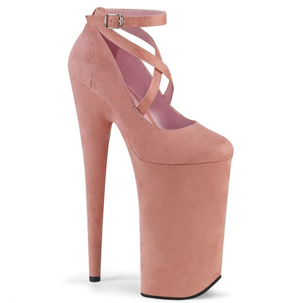 Extreme Heels BEYOND-087FS - Baby Pink