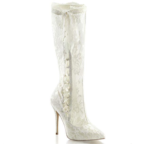 Bridal Boots AMUSE-2012 - Ivory