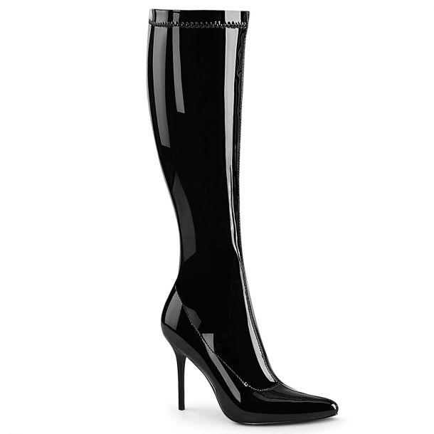 Knee Boots CLASSIQUE-2000 - Patent black