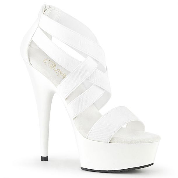 Platform High Heels DELIGHT-669 - White*