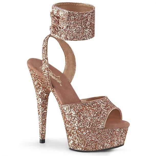 Platform High Heels DELIGHT-691LG - Rose Golden