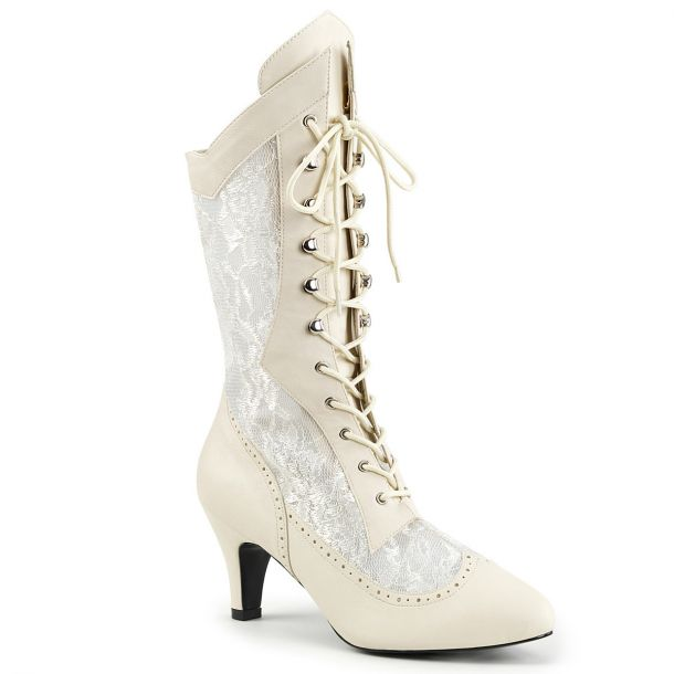 Ankle Boots DIVINE-1050 - Ivory