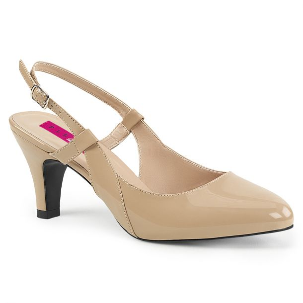 Slingback Pumps DIVINE-418 - Cream