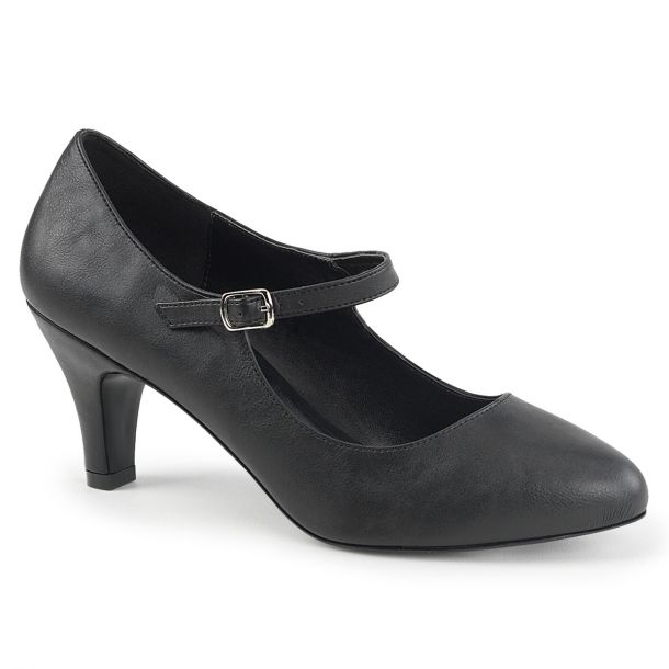Mary Jane Pumps DIVINE-440 - PU Black