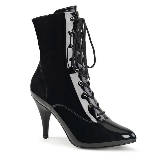 Ankle Boots DREAM-1020 - Patent Black