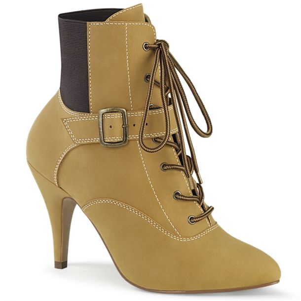 Ankle Boots DREAM-1022 - Tan
