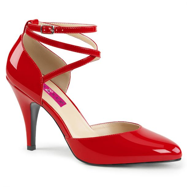 Pumps DREAM-408 - Patent Red