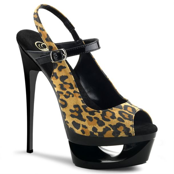 Platform Sandals ECLIPSE-656 - Leopard