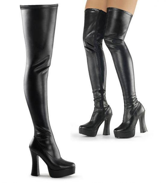 a36e8deb040924 Overknee Boots in oversize from 44 to 47 EU