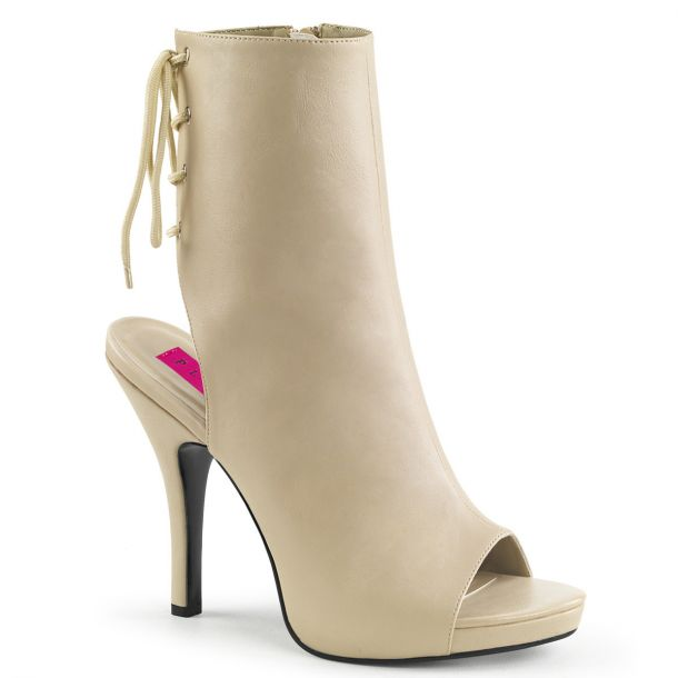 Ankle Boots EVE-102 - Cream