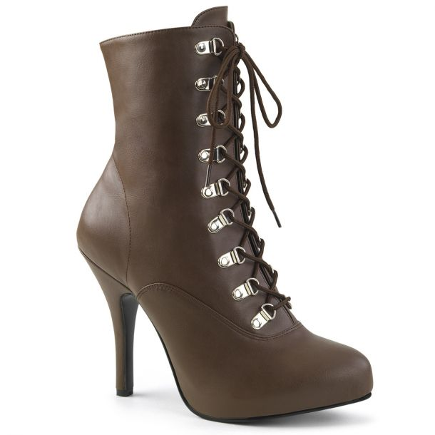 Ankle Boots EVE-106 - Brown