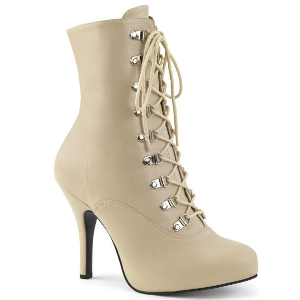 Ankle Boots EVE-106 - Cream