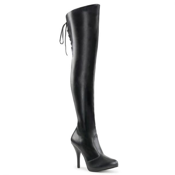 Overknee Boots EVE-312 - Black