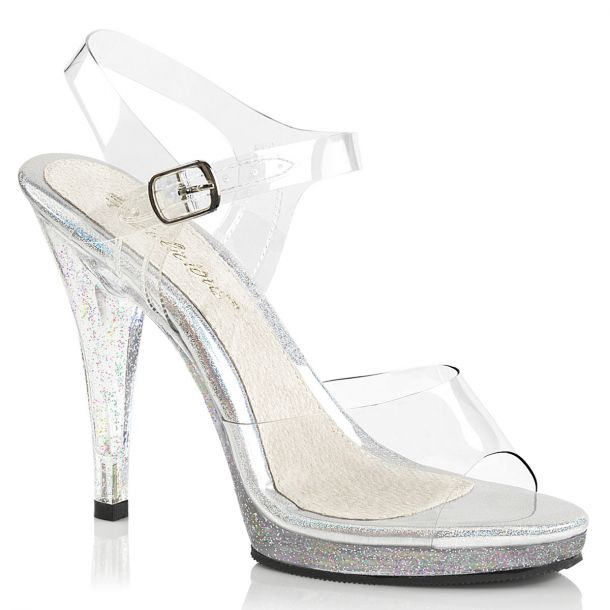 High-Heeled Sandal FLAIR-408MG - Clear
