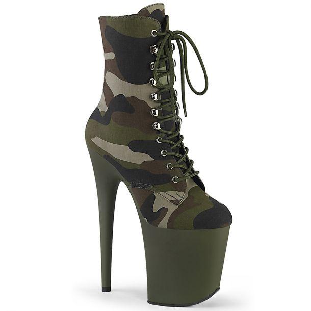 Extreme Platform Heels FLAMINGO-1020CAMO - Camouflage