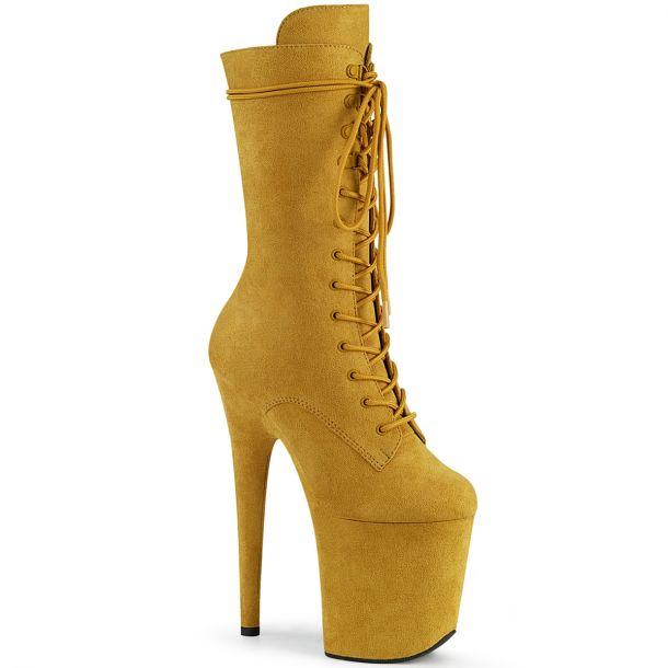 Extreme Platform Heels FLAMINGO-1050FS - Mustard*