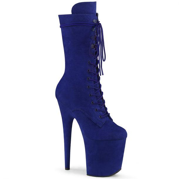 Extreme Platform Heels FLAMINGO-1050FS - Royal Blue