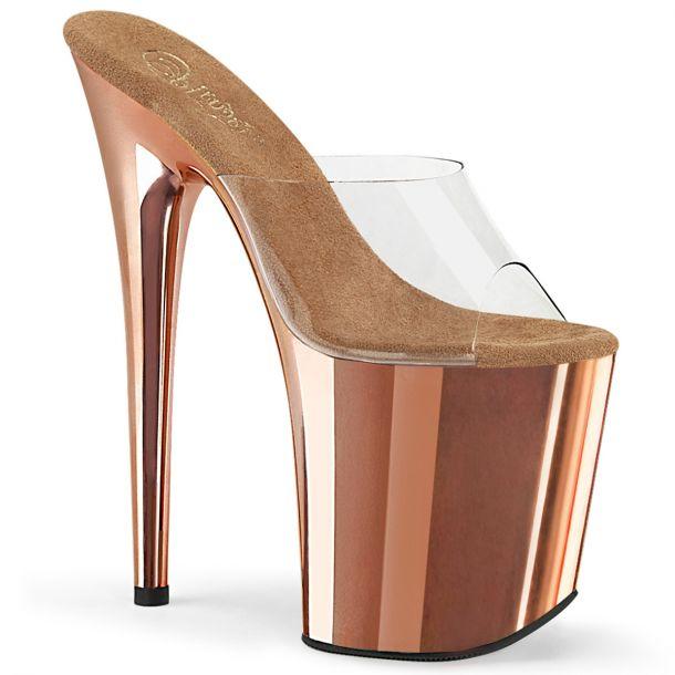 Extreme Platform Heels FLAMINGO-801 - Rose Gold