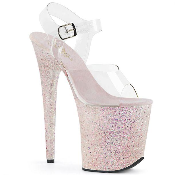 Extreme Platform Heels FLAMINGO-808LG - Opal Rose*