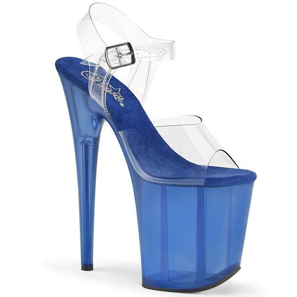 Extreme Platform Heels FLAMINGO-808T - Blue