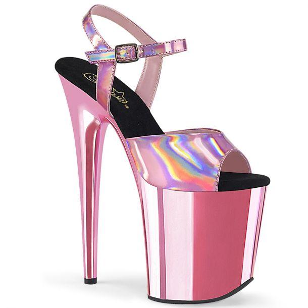 Extreme Platform Heels FLAMINGO-809HG -  Baby Pink