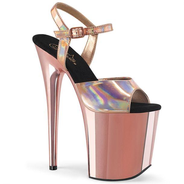 Extreme Platform Heels FLAMINGO-809HG -  Rose Gold