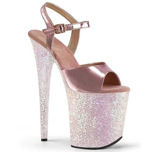 Extreme High Heels FLAMINGO-809LG - Opal Pink