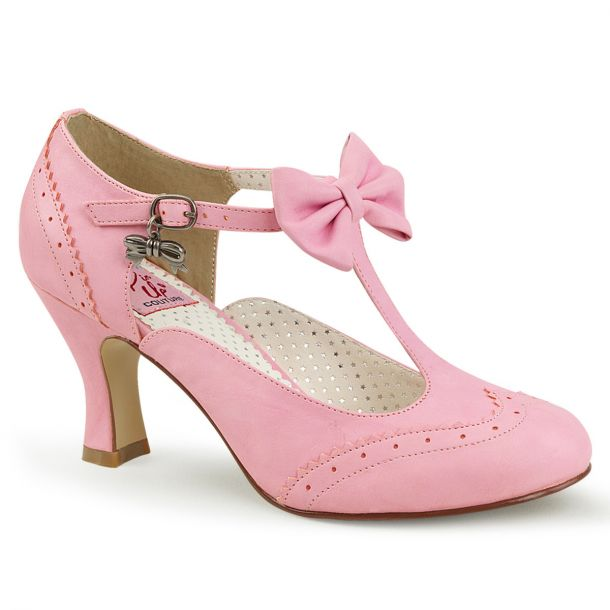 Kitten Heels FLAPPER-11 - Baby Pink