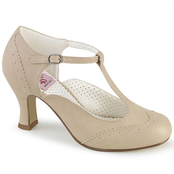 Pumps FLAPPER-26 - Cream*