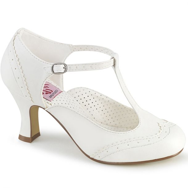 Pumps FLAPPER-26 - White*