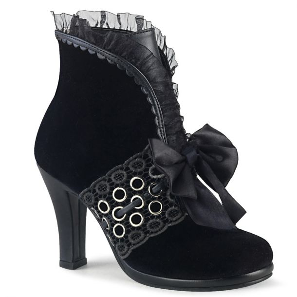 Ankle Boots GLAM-110 - Black*