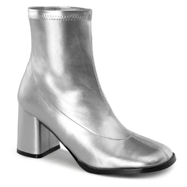 Classic Booties GOGO-150 - Silver