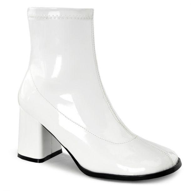 Classic Booties GOGO-150 - Patent White
