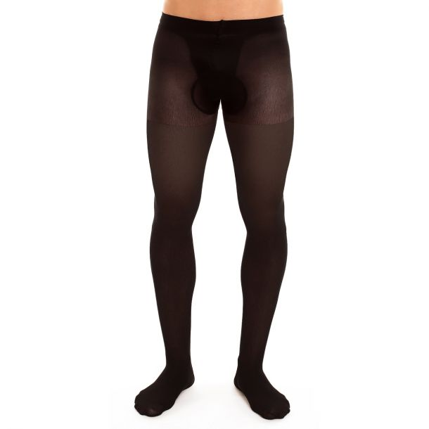 Men Support Tights SUPPORT 40 - Black*