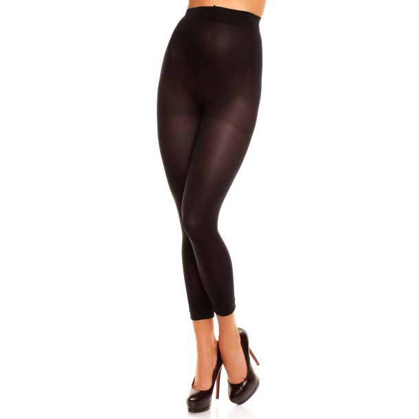 Leggings Opaque VELVET 80 - Black