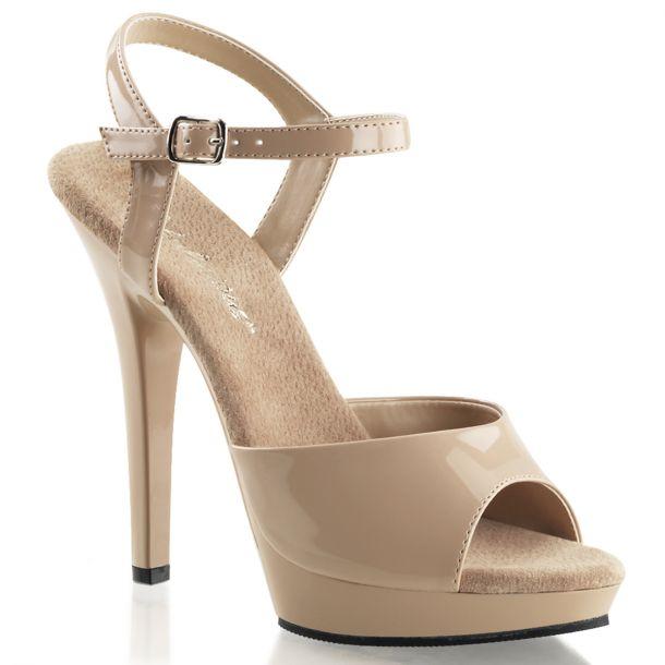 Sandal LIP-109 - Patent Nude