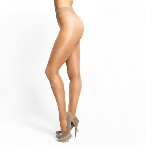 Crotchless Tights P101 - Beige*