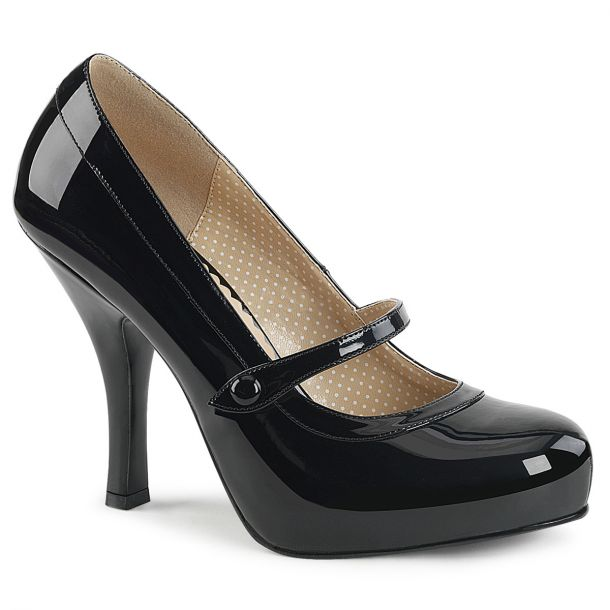 Mary Janes PINUP-01 - Patent Black