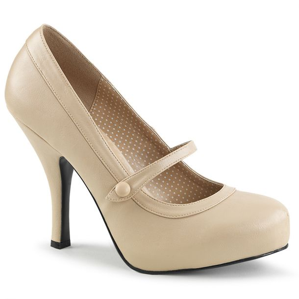 Mary Janes PINUP-01 - Cream