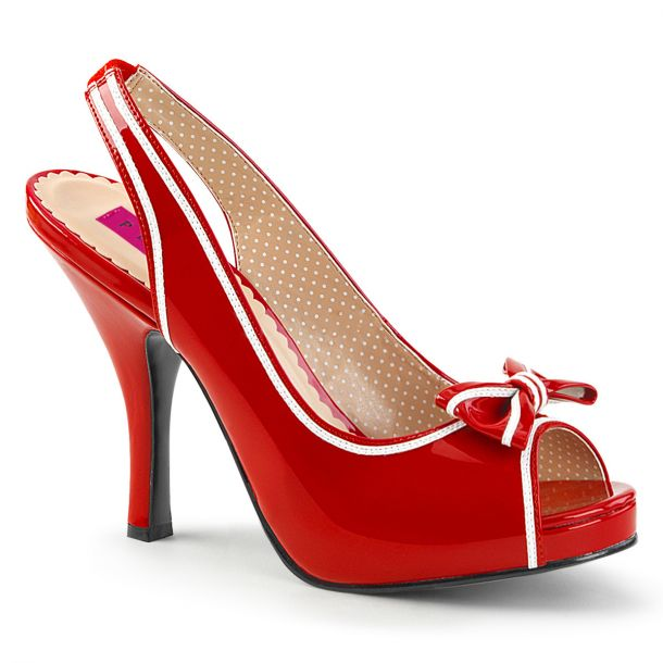 Peeptoes PINUP-10 - Red