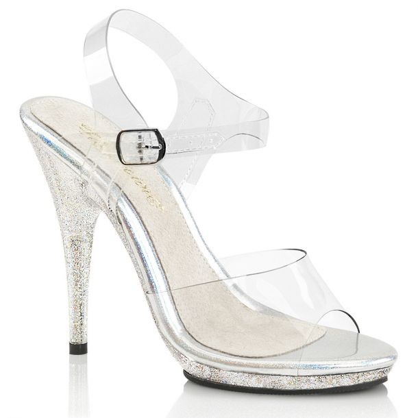 High-Heeled Sandal POISE-508MG - Clear