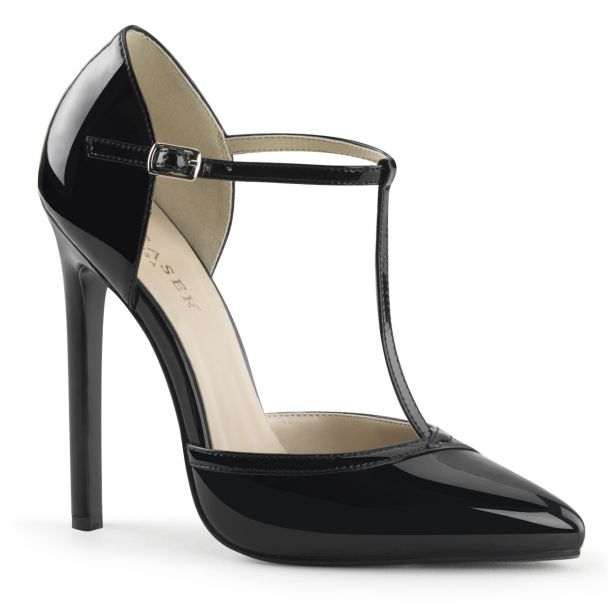 D'Orsay Pumps SEXY-27 - Patent black