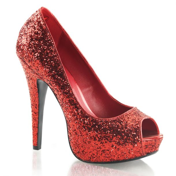Peeptoes Pumps TWINKLE-18G - Red*