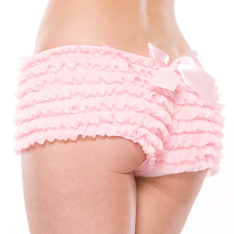 Coquette Panty Black//Pink;Plus Size