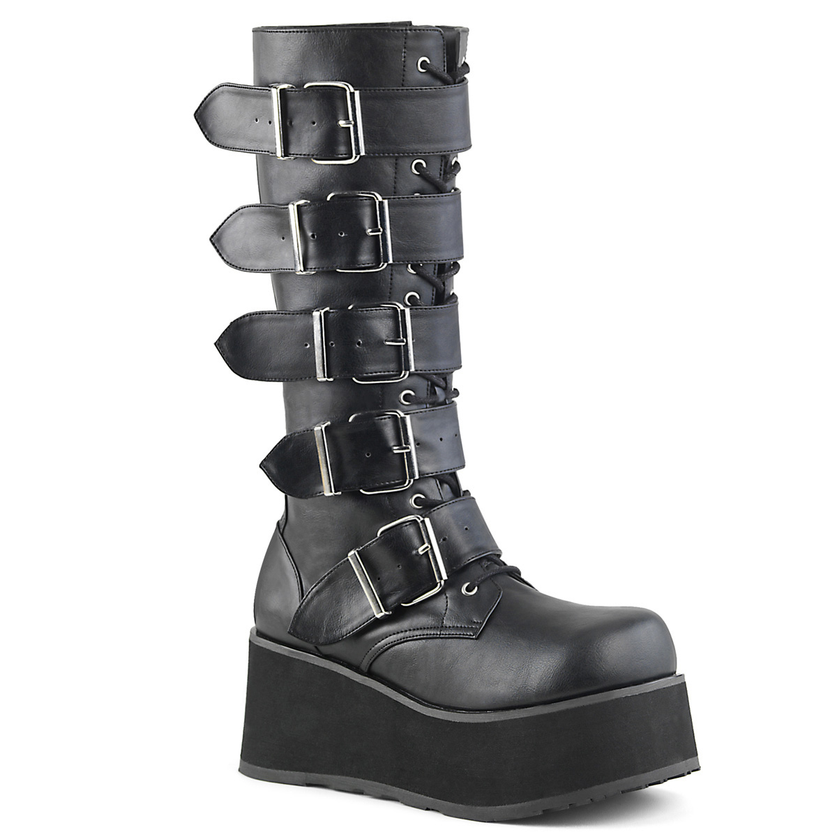 68e163cf054 Gothic Platform Boot TRASHVILLE-518 - PU