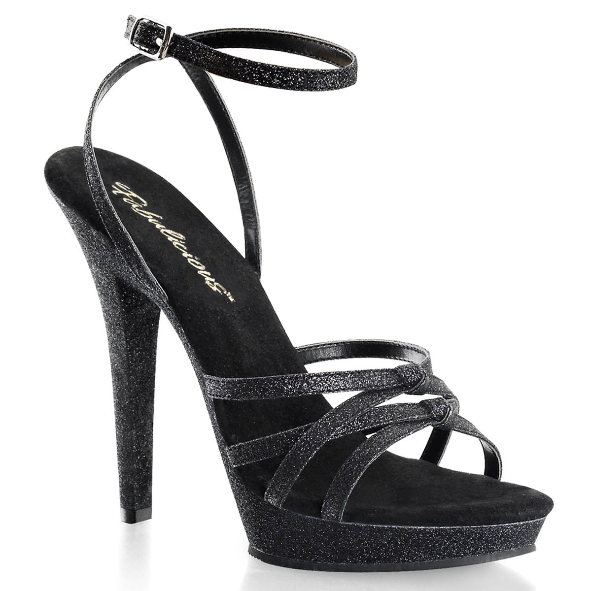04da9bb28f1 Sandal LIP-128 - Black Glitter